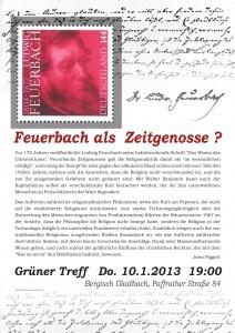 Feuerbach als Zeitgenosse