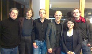 Treffen der SprecherInnen der Säkularen Grünen NRW beim LaVo in Düsseldorf